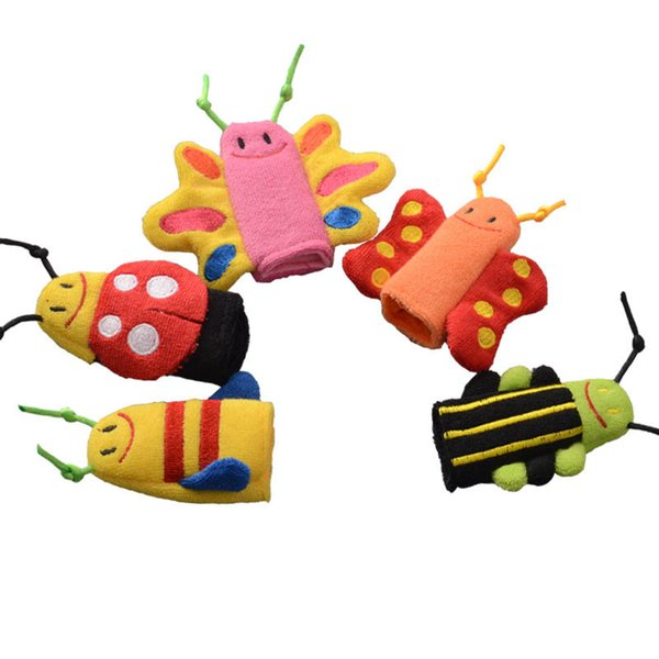 top popular Cute designer baby Finger puppets butterfly animal kids toys Infant Hand puppets toys kids toys baby Finger Puppets A3019 2020