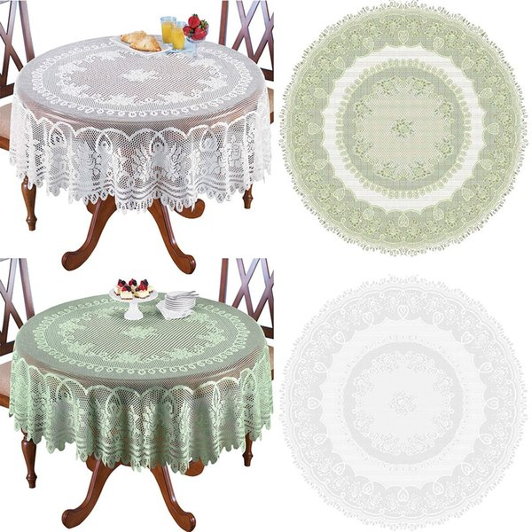 White Or Cream Lace Kitchen Table Cloth Tablecloth Round Or Oblong Choice  Household Accessories 2019 New Arrivals Best Selling Rooster Tablecloth ...