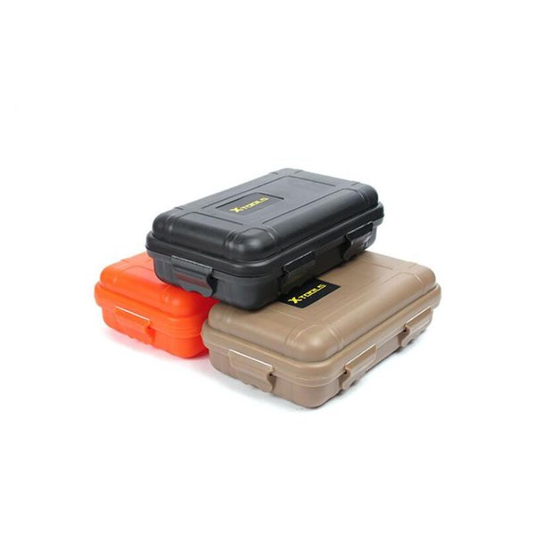 Outdoor Sport Gear Shockproof Waterproof Box Sealed Boxes EDC Tools Wild Survival Storage Box Free Shipping