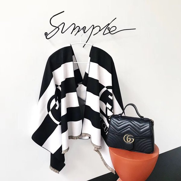High-grade brand wool scarf latest design cashmere print brand scarf fashion cashmere shawl for men and women