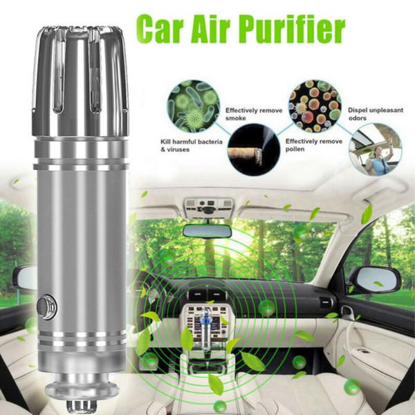 Nouvelle voiture auto nettoyant mini air frais purificateur ionique purificateur d'oxygène barre ozone ioniseur nettoyant
