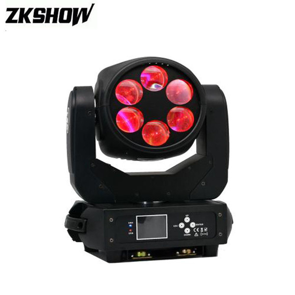 6*25W LED Super Beam Moving Head Wash Light DMX 512 DJ Disco Party Stage Effect Projector Manufacturer Proiettore Luci Natale
