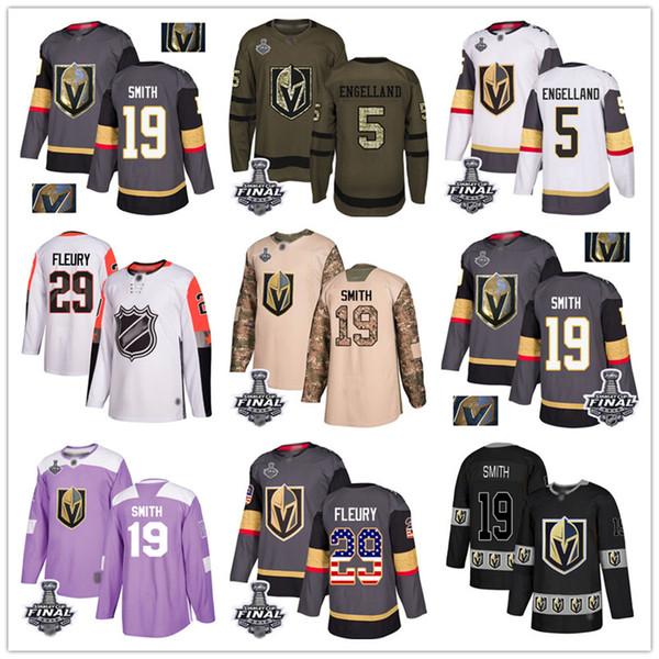 best selling Custom Vegas Golden Knights Jersey Fleury Pacioretty Pacioretty Reilly Smith Nate Schmidt Deryk Engelland USA Fashion hockey jerseys