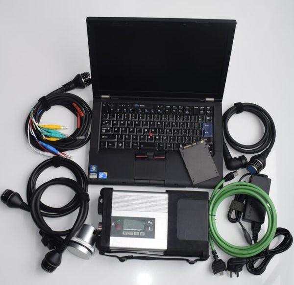 Support Online Offline-Programmierung MB-Stern c5 Mit Laptop T410 SSD Soft ware 2.019,12 Mit mb c5 Diagnosewerkzeug Bereit verbinden sd
