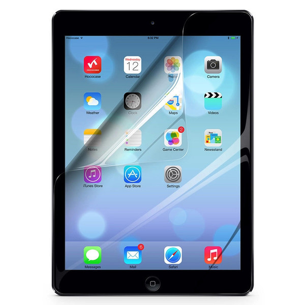 best selling Delicate HD Clear Screen Protector For iPad Air 2 iPad 6 ipad air 3pcs lot