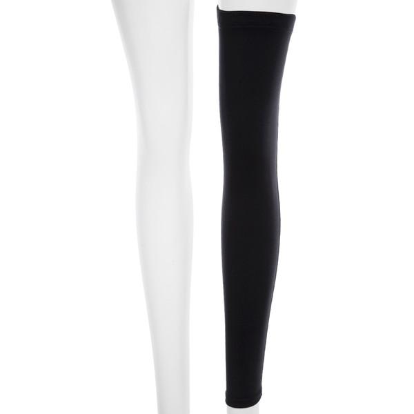 Almohadilla para rodillas Apoyo para la pantorrilla Deporte Baloncesto Manga de la pierna Almohadillas elásticas respirables con banda antideslizante Para el deporte Baloncesto Baloncesto