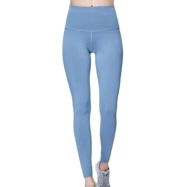 top popular High Waist Leggings Women Skinny Yoga pants Tummy Control Tight Seamless Mesh Stitching Running Outfits Ladies Gym Clothes 17-278x 2019