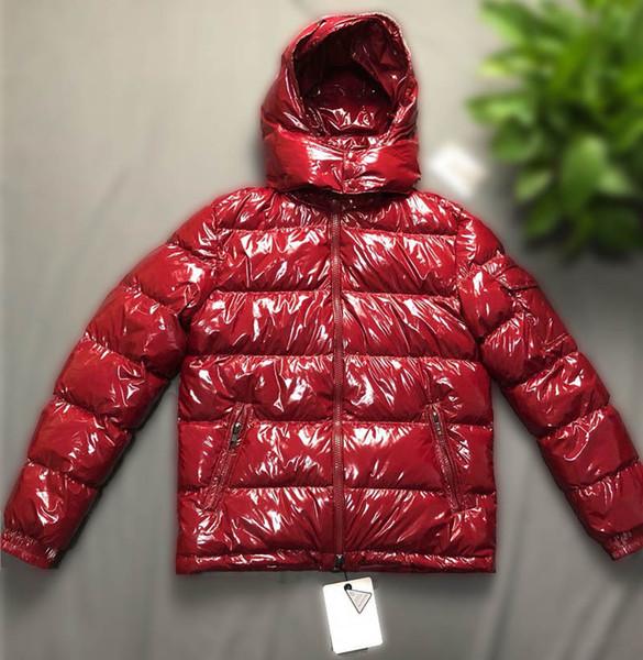 Женщины ветровки Designer Winter Лучшее качество вниз пальто Лучшее качество Толстые Luxury Hoodie Outwear Светящиеся куртки Размер S-3XL
