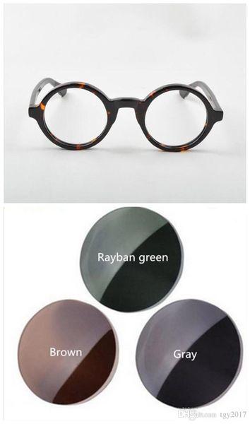 quadro de tartaruga + verde polarizado