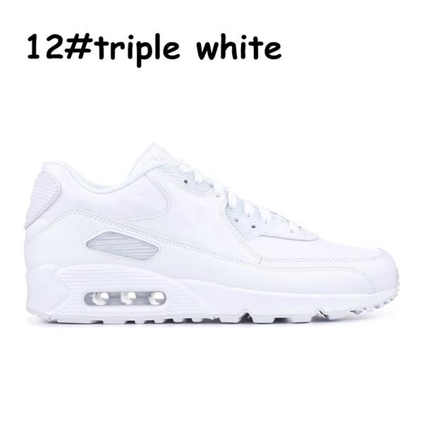 12 triple blanc