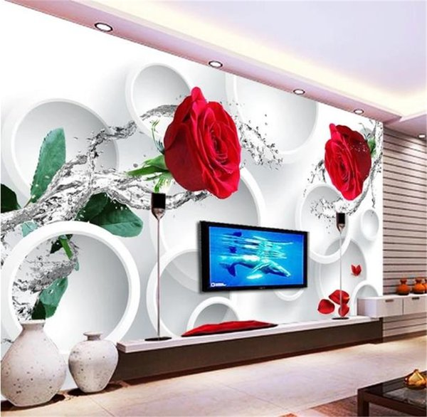 Tremendous Phone 3D Wallpaper Rose Flower 3D Crystal Living Room Bedroom Background Wall Decoration Mural Wallpaper Cars Wallpapers Cartoon Wallpaper From Gmtry Best Dining Table And Chair Ideas Images Gmtryco