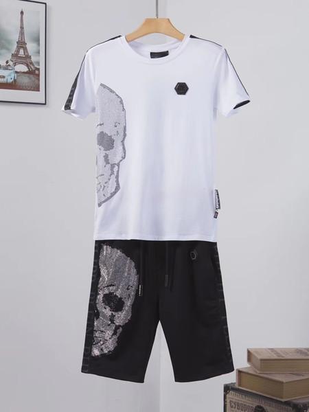 2f22 Tracksuit Man Suit Male 2019 New Pattern Korean Self-cultivation Trend Leisure Time Motion Twinset Jogging Men Fashion