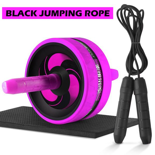 Purple with rope