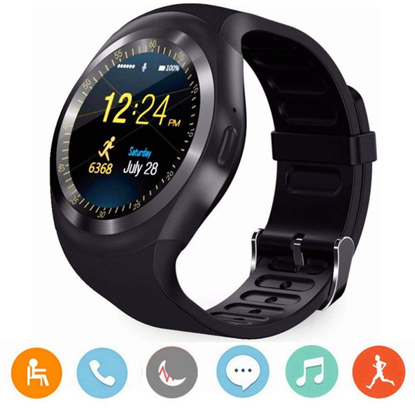 Y1 plus android Smart Watch Men/Women Smart Watch Kids Smartwatch Android Sim Card Smart Clock Heart Rate monitor