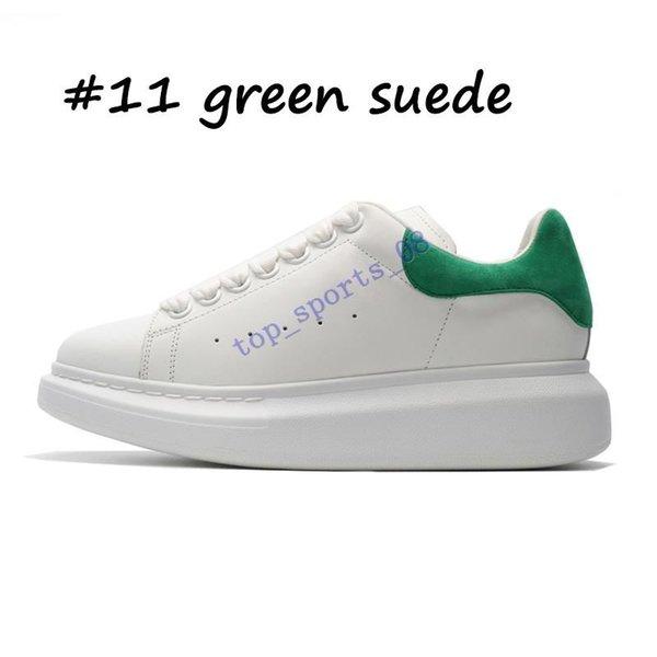 11 خضراء من جلد الغزال