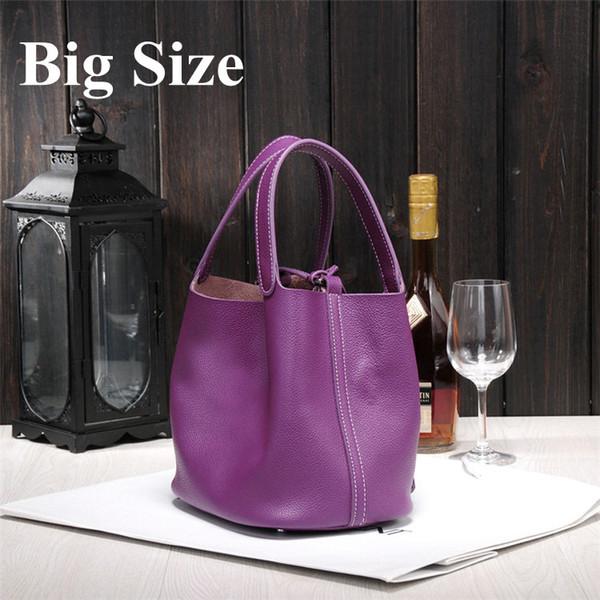 Atacado-2019 bolsas das mulheres novas H marcas famosas top qualidade genuína bolsas de couro senhoras bloqueio designer de marca Picotin compras 038d #