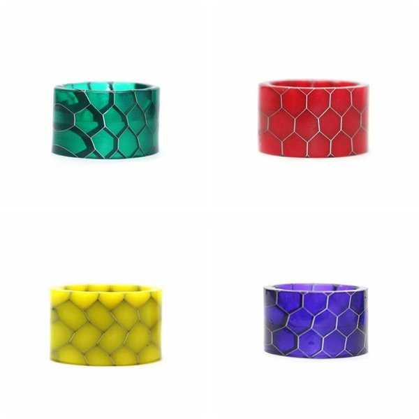 Good Resin Drip Tip Mouth Holder Colorful Cobra Wide Bore Mouthpiece For Vape Stick V9 Max Kit Tank Atomizer Vaporizer High Quality Hot Cake