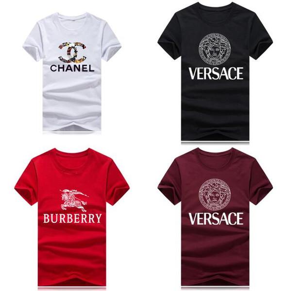 2019 Unisex Men T shirt Brand MODE logo Letter Printed T-shirt Short Sleeve women Hip Hop Street Outdoor wear kanye west Tee Shirt Homme