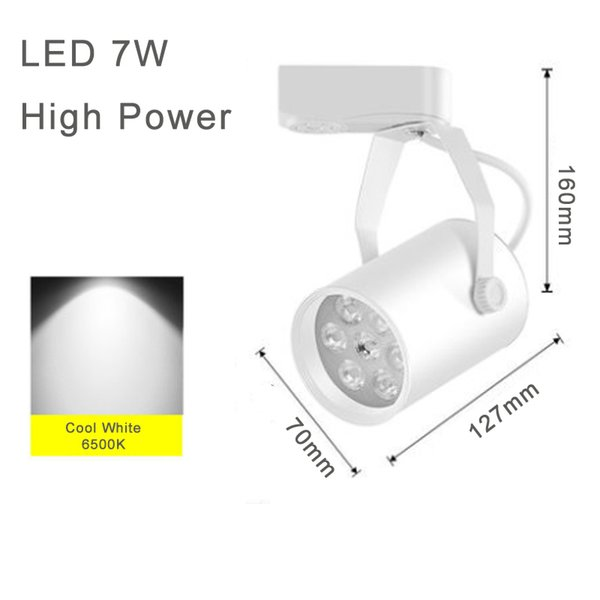 Bianco 7W High Power Cool White