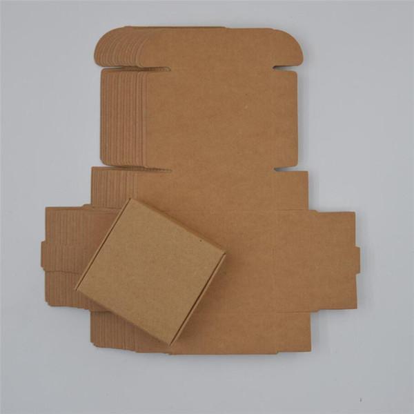 اللون: ورق الكرافت Gift Box Size: 4x4x2.5c