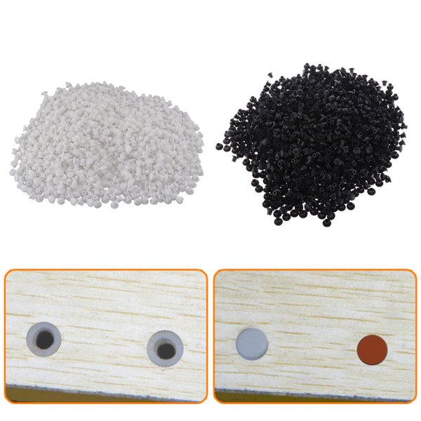 best selling 2000Pcs Hinge Hole Cover Cap Furniture Screw Hole Blanking Cap Protector 5mm Lot