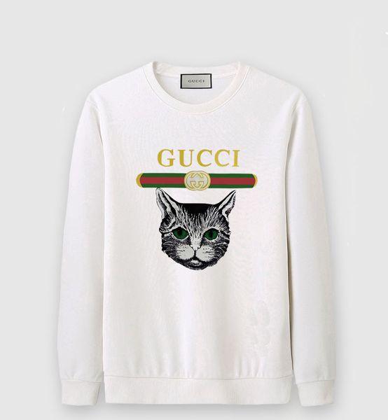 19SS new printing cat hoodie men's and women's hip hop jerseys long-sleeved sweater Asian code S-6XL