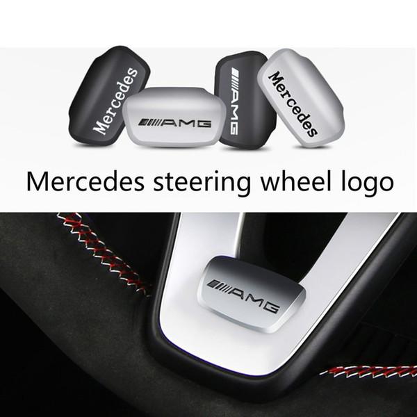 Mercedes-Bz C200L decorativa volante GLC260 E300L E200L AMG pegatinas de coche modificado interiores