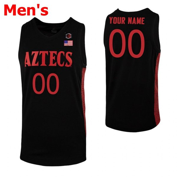 Mens 2020 All Black Red