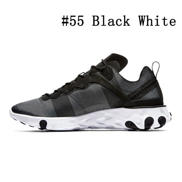 # 55 Black White