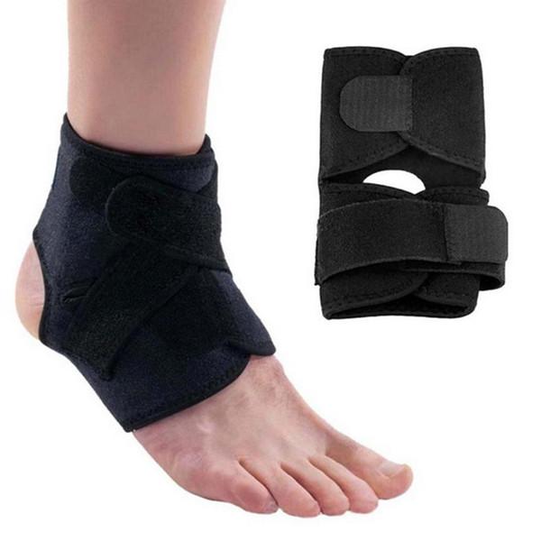 1 stück Sport Fußball Atmungsaktive Knöchelbandage Protector Einstellbar Knöchelschutz Pad Schutz Elastische Klammer Wache Unterstützung GYH neue # 17775