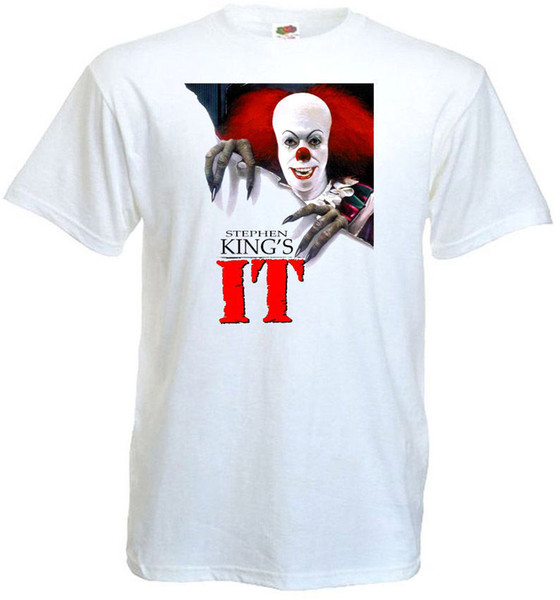 IT v.2 T-shirt white Poster all sizes S...5XL Brand shirts jeans Print