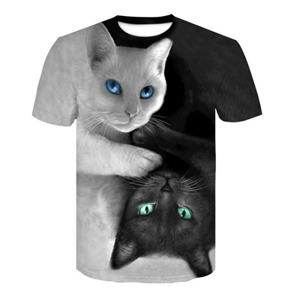 T-Shirt 3d der Mannt-shirt schwarzes T-Stück beiläufige Spitze Anime Streatwear Kurzarm-Stoff DropShipping