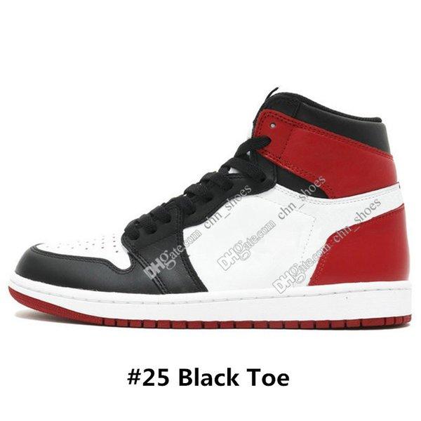 # 25 Black Toe