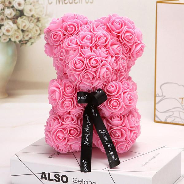 rosa 25cm kein Kasten