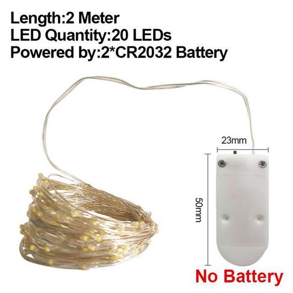 2M CR2032 No Batería