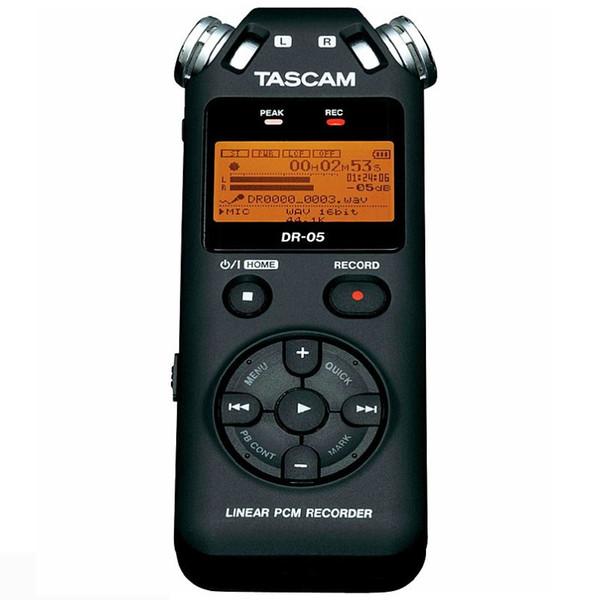 Original Tascam DR-05 Handheld Professional Portable Digital Voice Recorder MP3 Recording Pen Version 2 with 8GB micro SD DR-05C