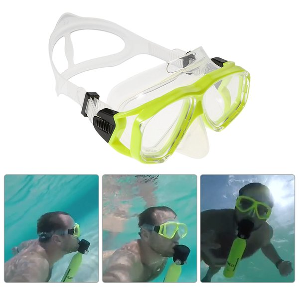 Diving Mask Anti-fog Snorkeling Goggles Wide Vision Scuba Mask Tempered Glass Lens Diving Goggles for Men Women