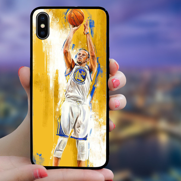 Hot Sale Designer Sports Start Phone Cases for IPhone XSMAX XS XR X 6 7 8 Plus TPU Fashion Cover for Men Women
