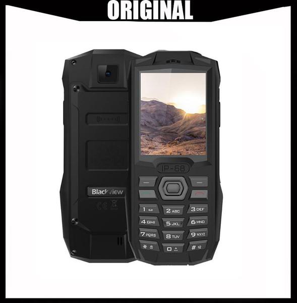 "Blackview BV1000 IP68 Waterproof Outdoor Mobile Phone 2.4"" MTK6261D Wireless FM Radio 3000mAh 0.3MP Dual SIM Rugged Cellphone"