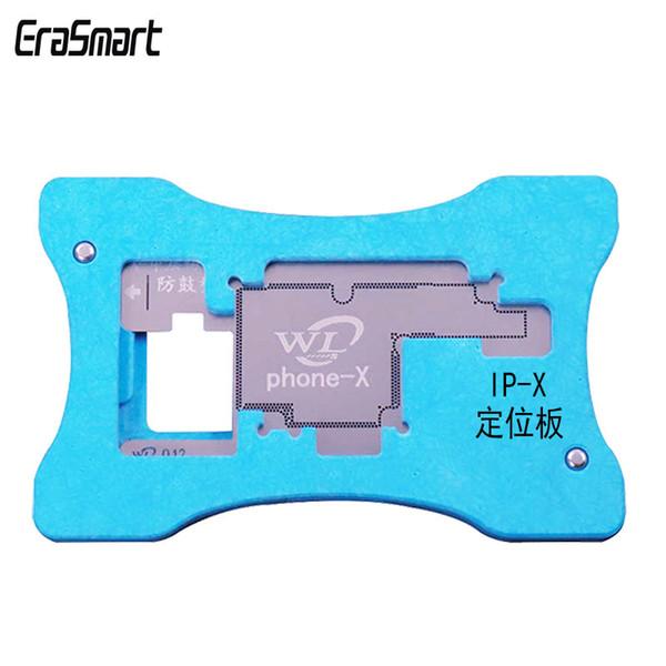 WL High Presicion iPhone X Carte mère Couche intermédiaire Kit d'étain Modèle Reballing Net de soudure