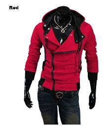 2019 Plus Size New Fashion Stylish Men Assassins Creed 9 Desmond Miles Costume Hoodie Cosplay Coat Jacket wholesale