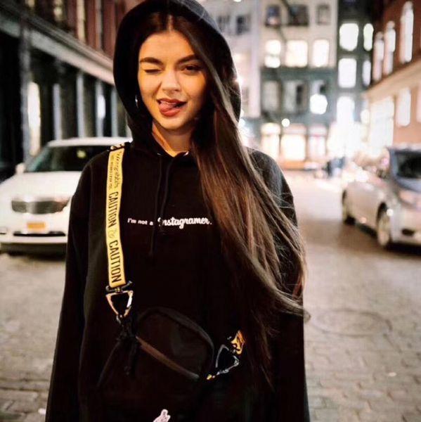 Moda Çanta Su Geçirmez Çift taraflı Nakış Logo Standart Satchel Messenger Çanta Erkek Ve Kadın Siyah Çanta HFBYBB085
