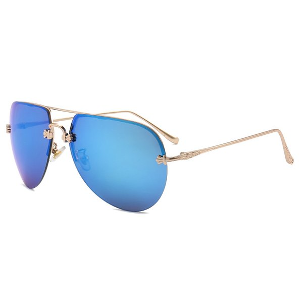 Woemn Vintage Rimless Sunglasses Brand Design Gradient Cndy Color Female Sunglasses Fashion Ladies Party Eyewear UV400 Oculos