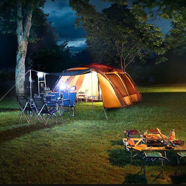 All'aperto Tende Shelters Picnic Beach Pergola Ultralight Tenda da campeggio In alluminio di alta qualità Robusto ombreggiatura Anti UV Grande spazio