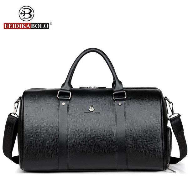 100% Genuine Leather Travel Bags Man Handbags Male Bag Travel Luggage Bag High Quality Duffle Bags Packing Cubes bolsa de viagem