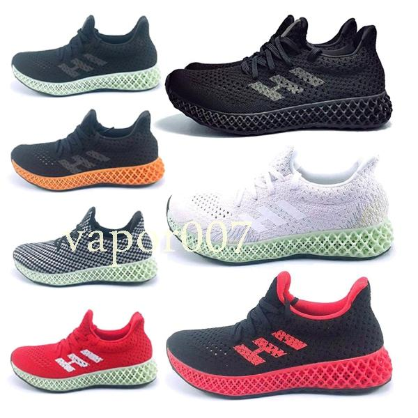 Designer fashion luxury shoes men Futurecraft 4D women Wave Runner running mens Training Top quality chaussures Sneakers