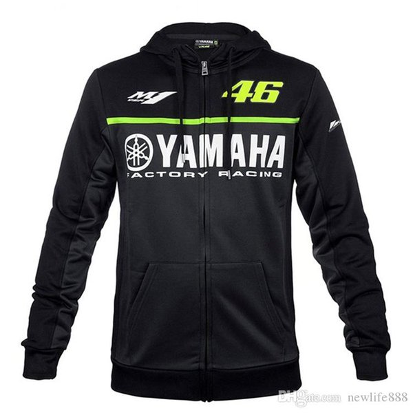 Moto GP hoodie racing moto équitation Pour yamaha hoody vêtements veste hommes vestes cross Zip jersey sweatshirts Coupe-vent 062