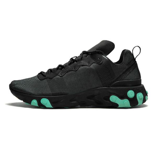 17 черный зеленый