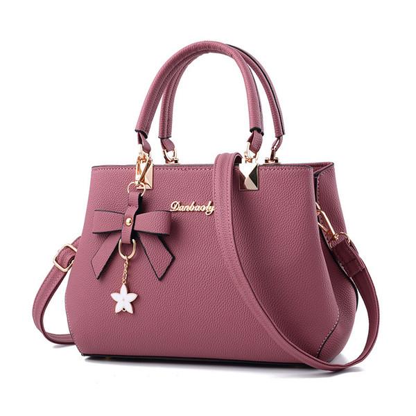 Buena calidad Bolsos de diseño Mujeres Plum Bow Crossbody Bolsas de hombro Tophandle Messenger Bag Mini Ballesta Bolsos Mujer
