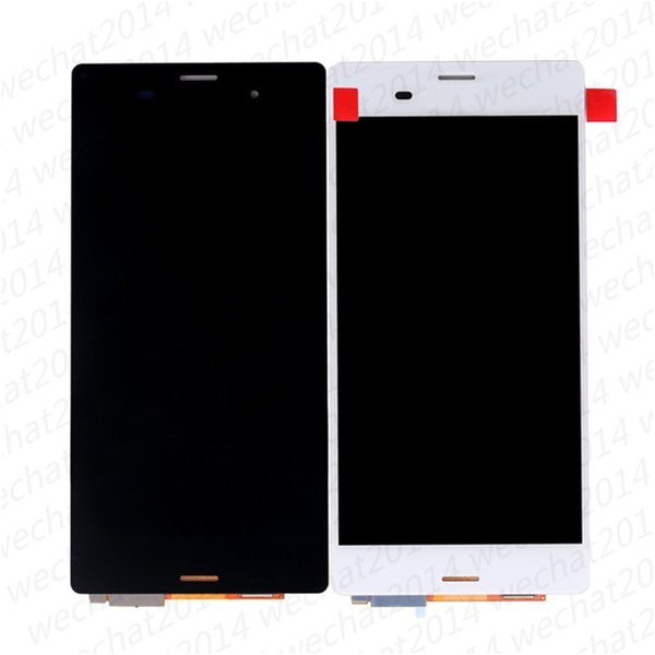30PCS LCD Display Touch Screen Digitizer Assembly Replacement Parts for Sony Z3 D6603 D6633 D6653 L55T Z3 Compact Z3 mini D5803 D5833